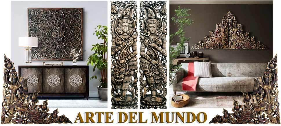 tallas de madera orientales
