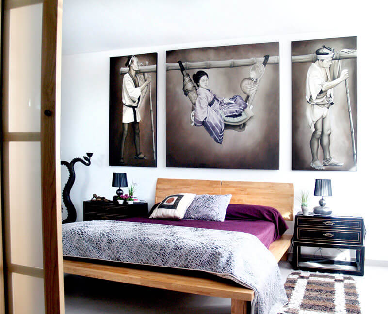 cuadros feng shui dormitorios