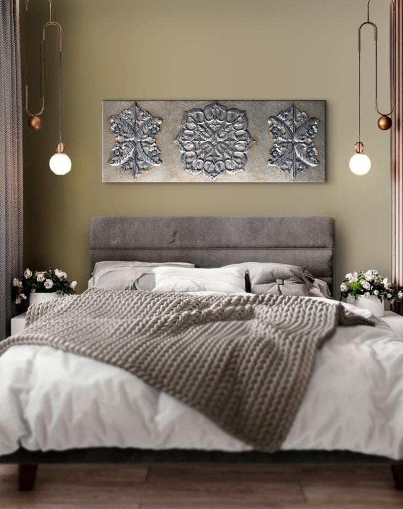 cuadros mandalas para dormitorios