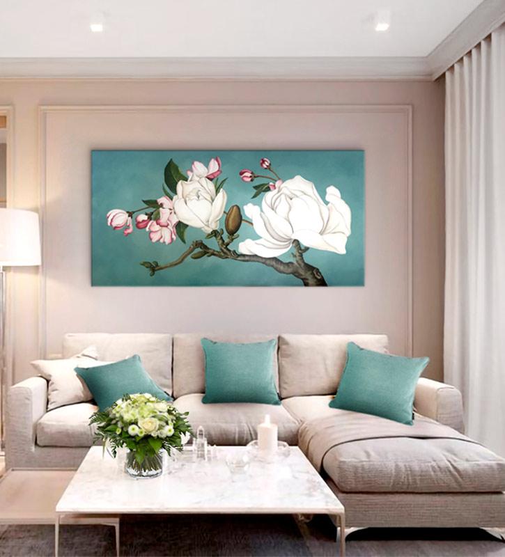 cuadros para el sofa reforma del salon