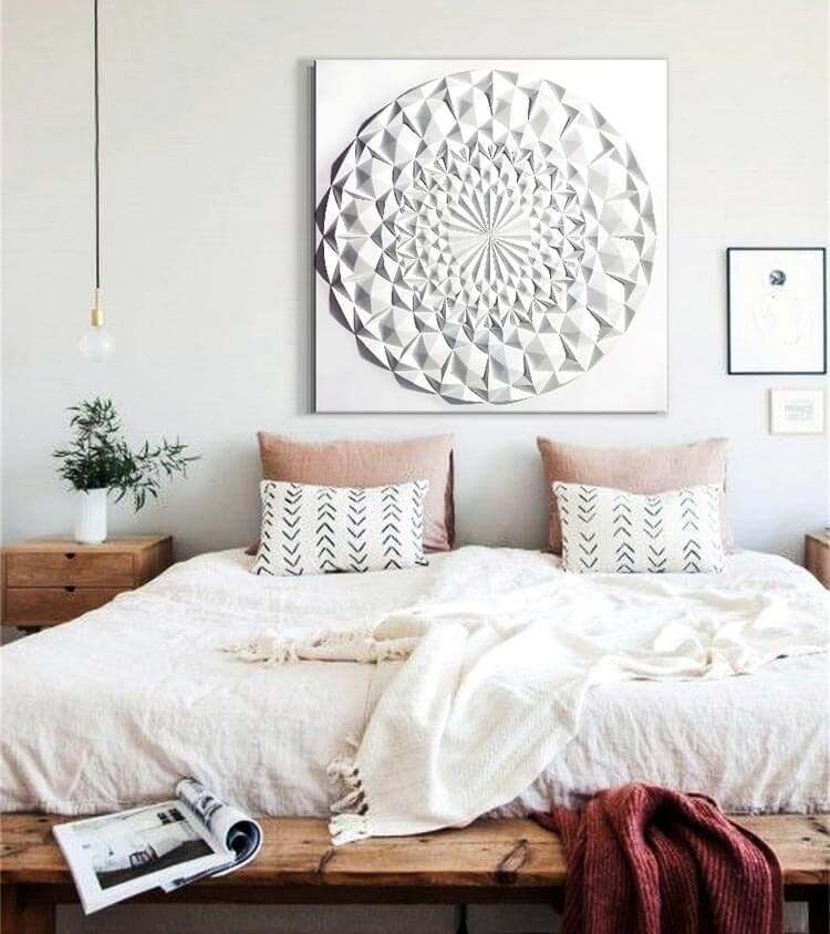 Los beneficios de tener cuadros mándalas en tu habitación