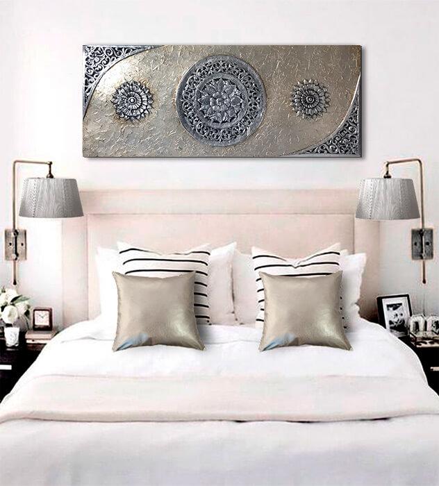 cuadro mándala para dormitorio o habitacion