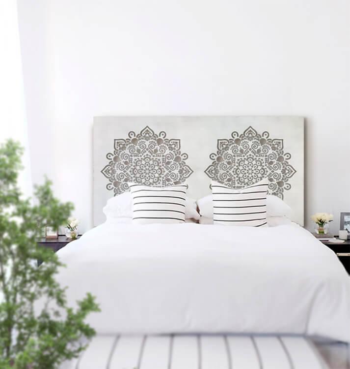 10 cabeceros de cama con alma para tu habitación