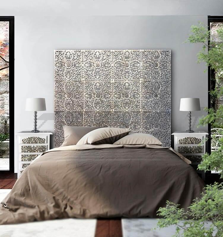cabeceros de estilo arabe dormitorio