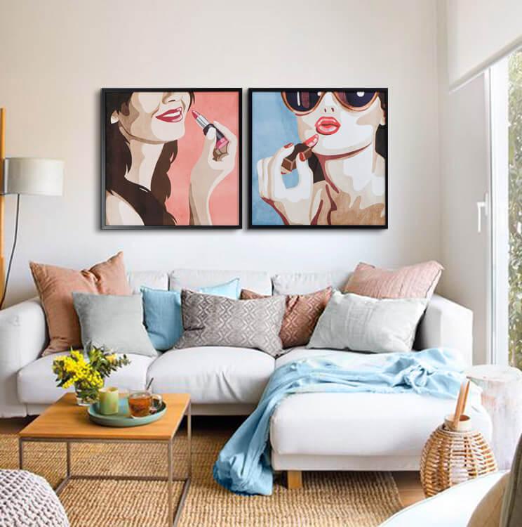 cojines sofa modernos