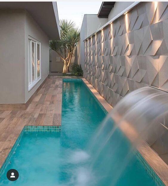 decorar con piscinas en patios